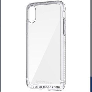Tech21 Clear iPhone 10/X Case